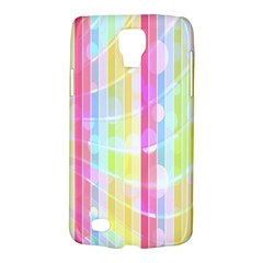 Abstract Stipes Colorful Background Circles And Waves Wallpaper Galaxy S4 Active by Nexatart