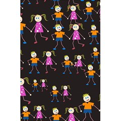Kids Tile A Fun Cartoon Happy Kids Tiling Pattern 5 5  X 8 5  Notebooks