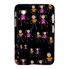 Kids Tile A Fun Cartoon Happy Kids Tiling Pattern Samsung Galaxy Tab 2 (7 ) P3100 Hardshell Case  by Nexatart