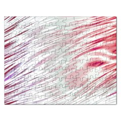 Fluorescent Flames Background With Special Light Effects Rectangular Jigsaw Puzzl by Nexatart