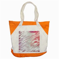 Fluorescent Flames Background With Special Light Effects Accent Tote Bag by Nexatart