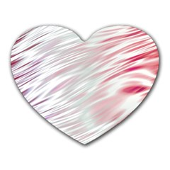 Fluorescent Flames Background With Special Light Effects Heart Mousepads