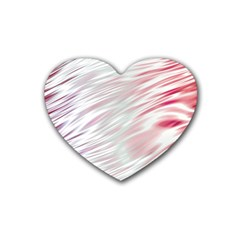 Fluorescent Flames Background With Special Light Effects Rubber Coaster (heart)  by Nexatart