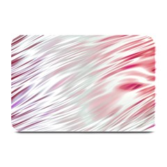 Fluorescent Flames Background With Special Light Effects Plate Mats