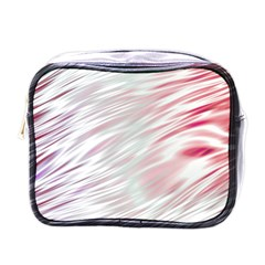 Fluorescent Flames Background With Special Light Effects Mini Toiletries Bags by Nexatart
