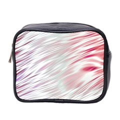 Fluorescent Flames Background With Special Light Effects Mini Toiletries Bag 2 Side