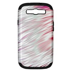 Fluorescent Flames Background With Special Light Effects Samsung Galaxy S Iii Hardshell Case (pc+silicone)