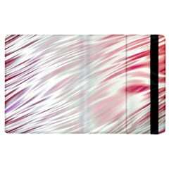 Fluorescent Flames Background With Special Light Effects Apple Ipad 2 Flip Case by Nexatart