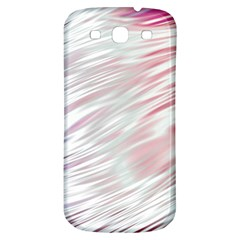 Fluorescent Flames Background With Special Light Effects Samsung Galaxy S3 S Iii Classic Hardshell Back Case by Nexatart