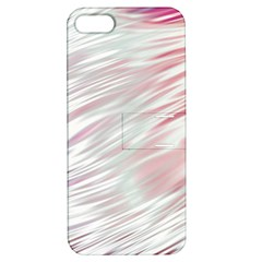 Fluorescent Flames Background With Special Light Effects Apple Iphone 5 Hardshell Case With Stand by Nexatart