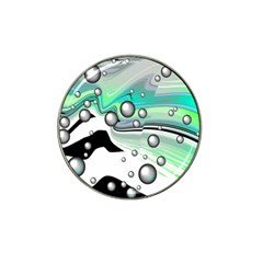 Small And Big Bubbles Hat Clip Ball Marker (4 Pack) by Nexatart