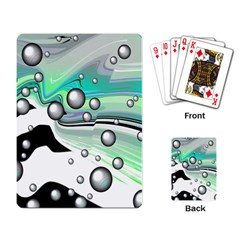 Small And Big Bubbles Playing Card by Nexatart