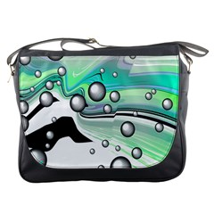 Small And Big Bubbles Messenger Bags
