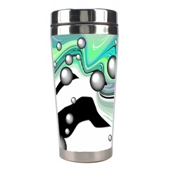 Small And Big Bubbles Stainless Steel Travel Tumblers