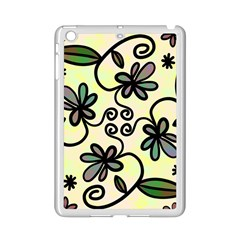 Completely Seamless Tileable Doodle Flower Art Ipad Mini 2 Enamel Coated Cases by Nexatart