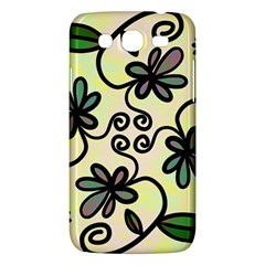 Completely Seamless Tileable Doodle Flower Art Samsung Galaxy Mega 5 8 I9152 Hardshell Case  by Nexatart