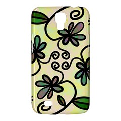 Completely Seamless Tileable Doodle Flower Art Samsung Galaxy Mega 6 3  I9200 Hardshell Case