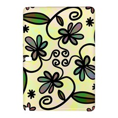 Completely Seamless Tileable Doodle Flower Art Samsung Galaxy Tab Pro 12 2 Hardshell Case by Nexatart