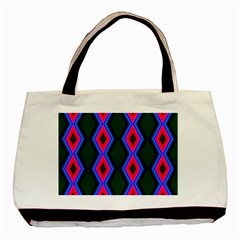 Quadrate Repetition Abstract Pattern Basic Tote Bag by Nexatart