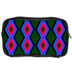 Quadrate Repetition Abstract Pattern Toiletries Bags by Nexatart