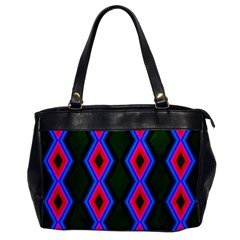Quadrate Repetition Abstract Pattern Office Handbags by Nexatart