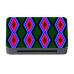 Quadrate Repetition Abstract Pattern Memory Card Reader With Cf by Nexatart