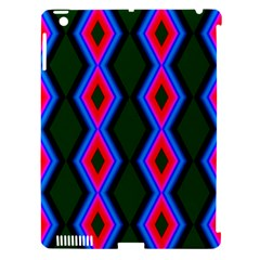 Quadrate Repetition Abstract Pattern Apple Ipad 3/4 Hardshell Case (compatible With Smart Cover)
