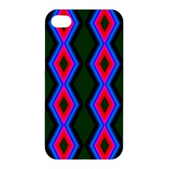Quadrate Repetition Abstract Pattern Apple Iphone 4/4s Premium Hardshell Case