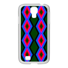 Quadrate Repetition Abstract Pattern Samsung Galaxy S4 I9500/ I9505 Case (white) by Nexatart
