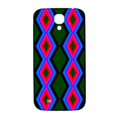 Quadrate Repetition Abstract Pattern Samsung Galaxy S4 I9500/i9505  Hardshell Back Case by Nexatart