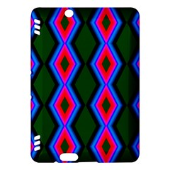 Quadrate Repetition Abstract Pattern Kindle Fire Hdx Hardshell Case by Nexatart