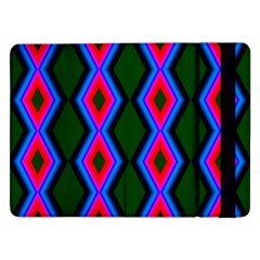 Quadrate Repetition Abstract Pattern Samsung Galaxy Tab Pro 12 2  Flip Case