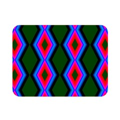 Quadrate Repetition Abstract Pattern Double Sided Flano Blanket (mini)  by Nexatart