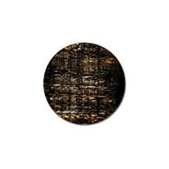 Wood Texture Dark Background Pattern Golf Ball Marker (4 Pack)