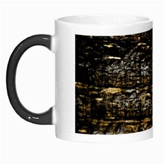 Wood Texture Dark Background Pattern Morph Mugs