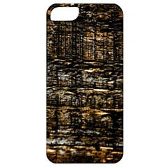 Wood Texture Dark Background Pattern Apple Iphone 5 Classic Hardshell Case
