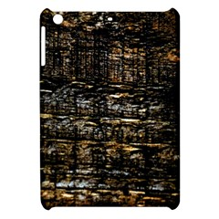 Wood Texture Dark Background Pattern Apple Ipad Mini Hardshell Case