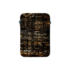Wood Texture Dark Background Pattern Apple Ipad Mini Protective Soft Cases