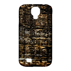 Wood Texture Dark Background Pattern Samsung Galaxy S4 Classic Hardshell Case (pc+silicone)