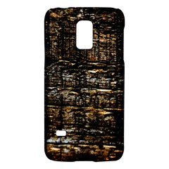 Wood Texture Dark Background Pattern Galaxy S5 Mini by Nexatart