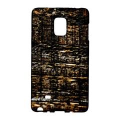 Wood Texture Dark Background Pattern Galaxy Note Edge by Nexatart