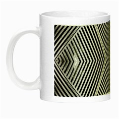 Black And White Line Abstract Night Luminous Mugs by Nexatart
