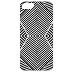 Black And White Line Abstract Apple Iphone 5 Classic Hardshell Case