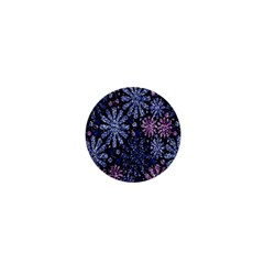 Pixel Pattern Colorful And Glittering Pixelated 1  Mini Buttons by Nexatart