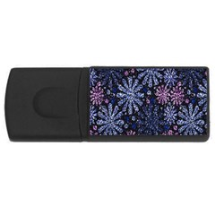 Pixel Pattern Colorful And Glittering Pixelated Usb Flash Drive Rectangular (4 Gb) by Nexatart