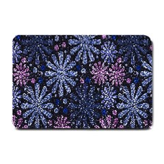 Pixel Pattern Colorful And Glittering Pixelated Small Doormat  by Nexatart