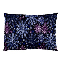 Pixel Pattern Colorful And Glittering Pixelated Pillow Case by Nexatart