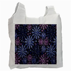 Pixel Pattern Colorful And Glittering Pixelated Recycle Bag (one Side)