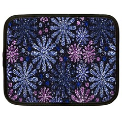 Pixel Pattern Colorful And Glittering Pixelated Netbook Case (xl)  by Nexatart