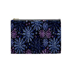 Pixel Pattern Colorful And Glittering Pixelated Cosmetic Bag (medium)